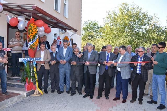 Kozcağız Sanayi Camii Açıldı