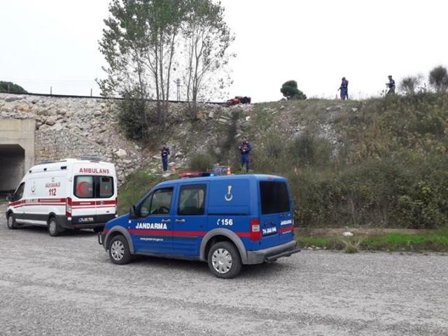 Bartın'da motosiklet kazası