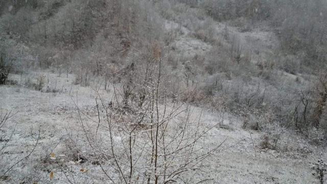 Bartın'da yüksek kesimler beyaza büründü