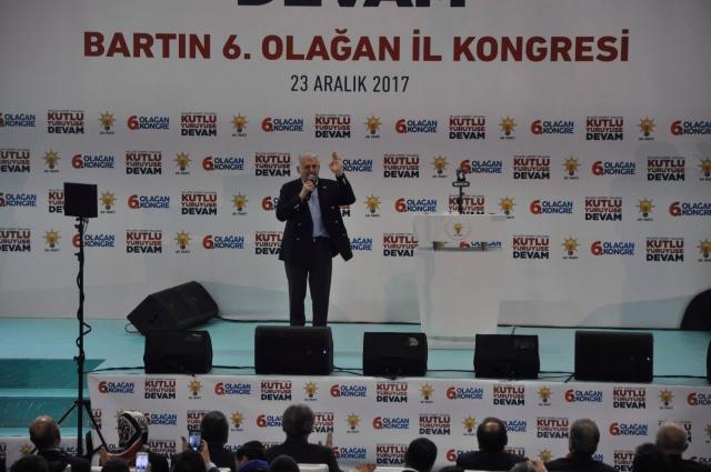 Başbakan Binali Yıldırım Bartın'da Halka Hitap Etti