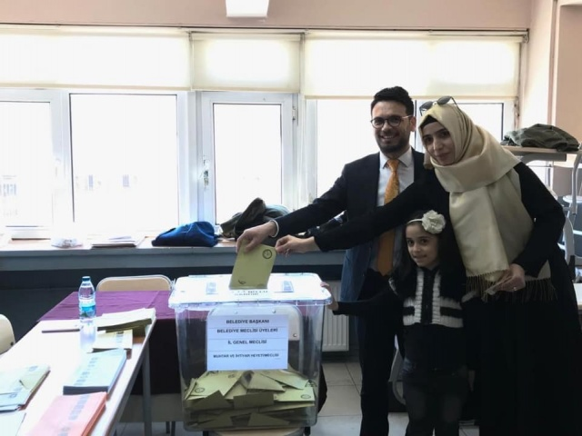 Bartın'da Başkan Adayları Oylarını Kullandı
