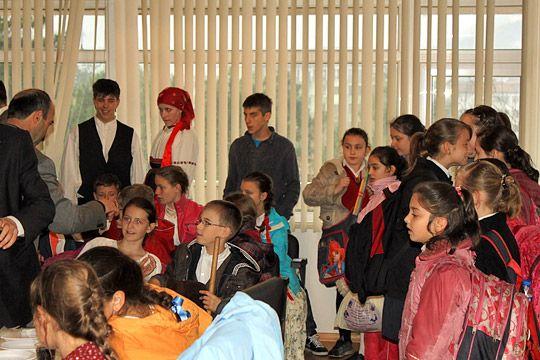 Bulgar ve Macar Çocuklar Amasra'da