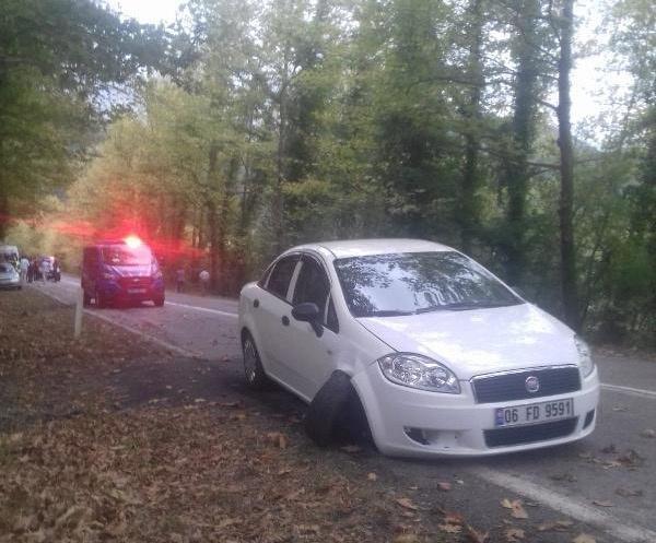 Bartın'da otomobilin çarptığı kadın hayatını kaybetti