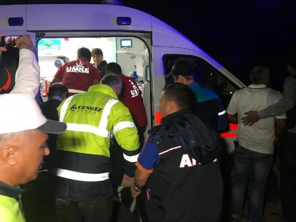 Bartın'da otomobil baraja uçtu: 4 kayıp