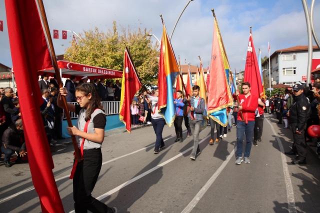 Bartın'da Cumhuriyet Bayramı Coşkusu