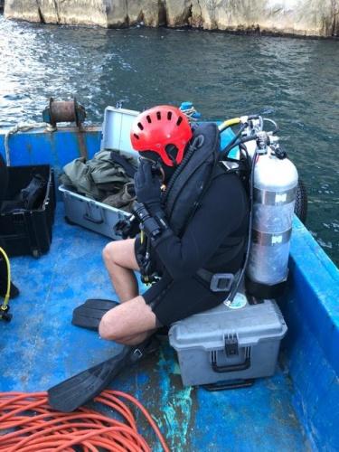 Bartın'da dalış eğitimi yapan astsubay kayboldu