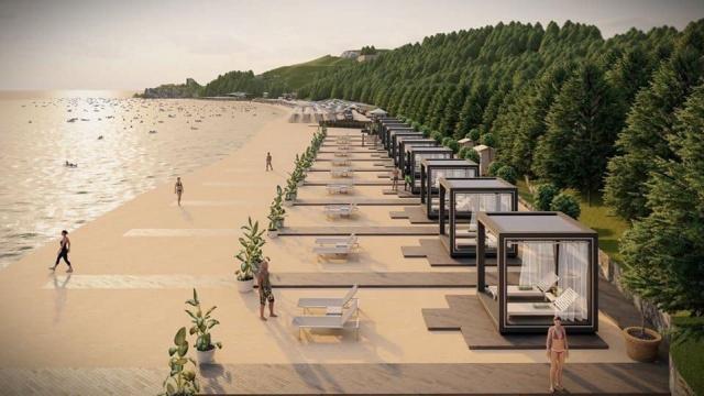 Bozköy Plajı'na Yeni Proje