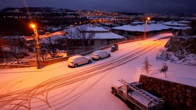 Beklenen Kar Nihayet Geldi