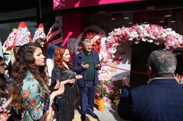 Şenay Güzellik Salonu Açıldı