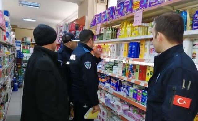 Bartın'da Marketlere Koronavirüs Denetimi