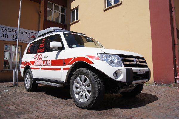 Artık Bartın'da paletli ambulans var
