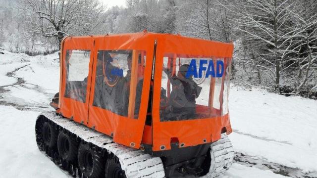 Bartın'da 8X8 Amfibik Araç Zorlu Arazi Koşullarında Denendi