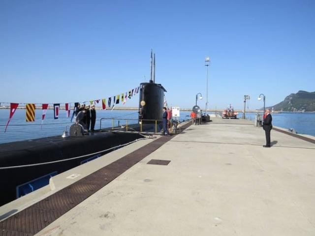 TCG Anafartalar Denizaltısı Amasra'da