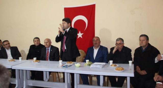 Milletvekili Tunç Bartın'da Köy Köy Mahalle Mahalle Dolaşarak Yeni Sistemi Anlatıyor