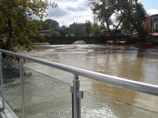 Bartın Irmağı Taştı