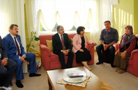 Başkan'dan Bayram Ziyaretleri