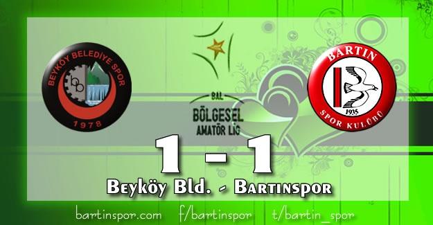 Beyköy Belediyespor - Bartınspor