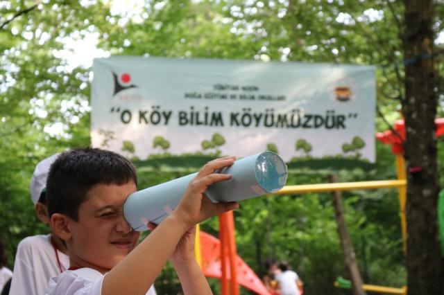 Bartın'da O Köy Bilim Köyümüzdür Projesi