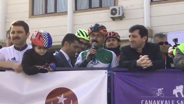Bartın Pedaldaşlar Derneği Çanakkale'de