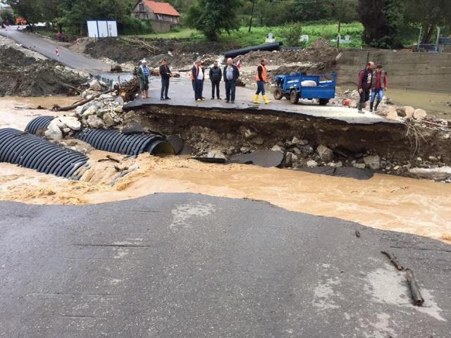 Bartın - Kurucaşile yolundaki Sel Hasarları için 33 Milyon TL ödenek