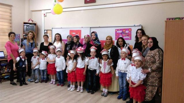 Bartın'da Anasınıfı öğrencilerinden anneler günü kutlaması