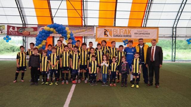 Bartın'da Fenerbahçe Futbol Okulu Açıldı