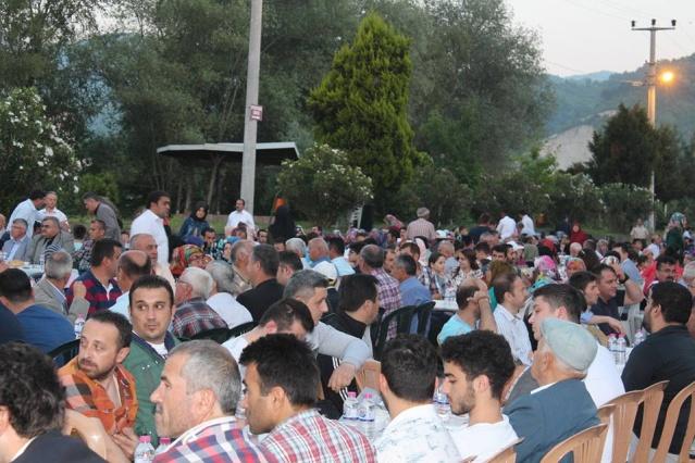 Bartın Kozcağız'da Ramazan Bereketi
