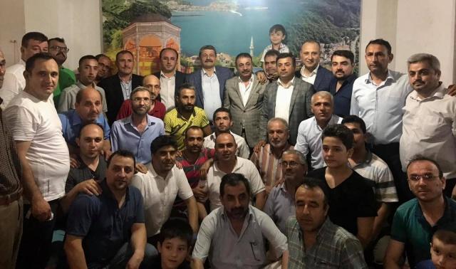 Bartın Milletvekili Tunç ve Başkan Akın İstanbul'da