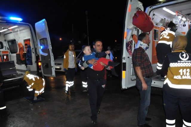 Bartın'da Faciadan Dönüldü: 3 Yaralı