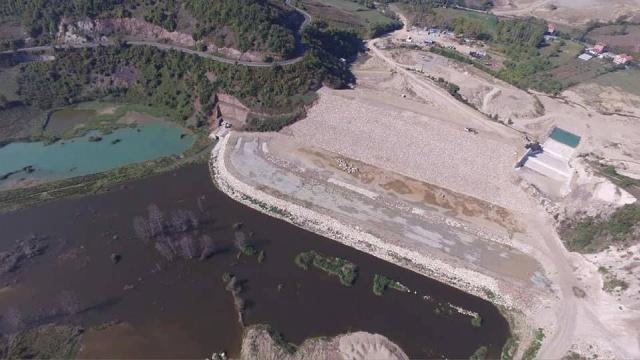 Bartın Kışla Barajı Su Tutmaya Başladı