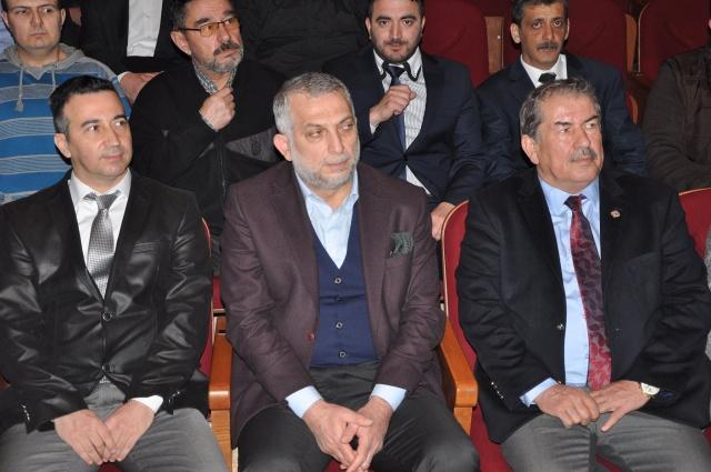 AK Parti'li Külünk Bartın'da konferansa katıldı