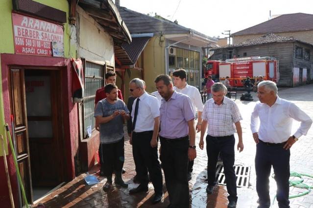 Bartın Kurucaşile'de Sel Felaketi
