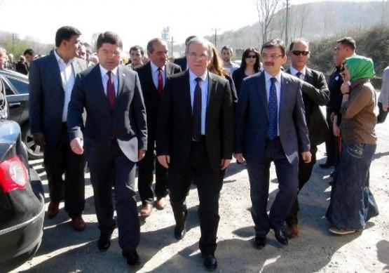 Mehmet Ali Şahin Bartın'da