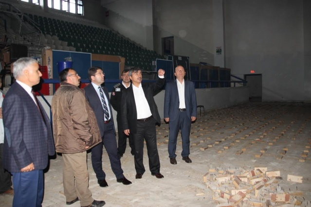 Bartın Ömertepesi Kapalı Spor Salonu Yenileniyor