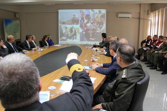 Bartın'da Plaj Boğulmalarını Önleme Faaliyetleri Toplantısı