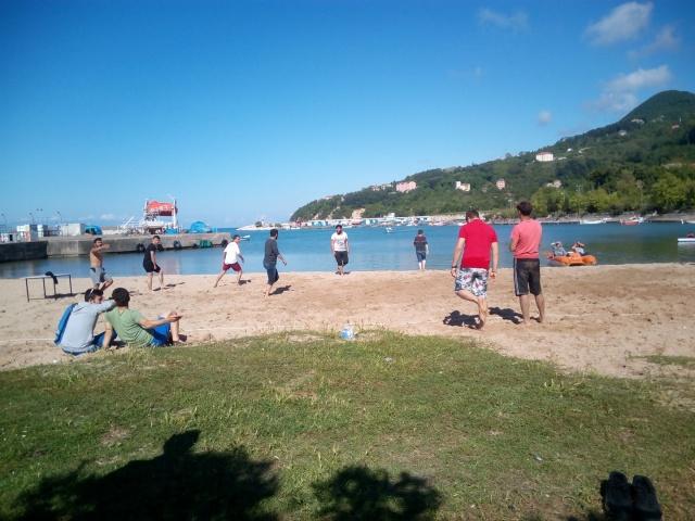 Bartın Kurucaşile'de Plaj Voleybolu