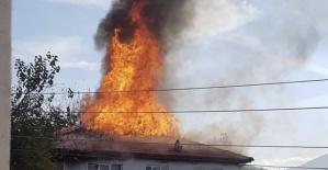 Bartın'da Köy Halkı Evi Yanan Komşuları İçin Seferber Oldu