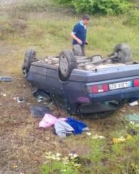 Feci Kaza Ucuz Atlatıldı: 3 Yaralı