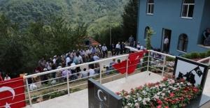 Bartın'da Şehit Ayhan Erdoğan'a yeni kabir