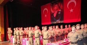 Bartın'da kısa dönem askerler yemin etti