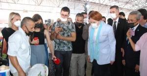 İYİ Parti Lideri Meral Akşener Bartın'daydı
