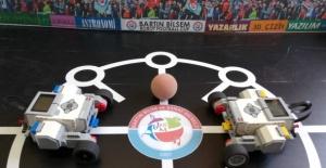 Bartın'ın İlk Robot Futbol Turnuvası