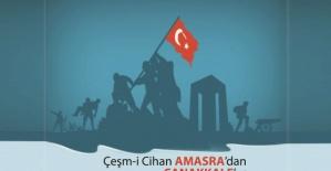 Amasra Milli Eğitim Müdürü Acar'da Çanakkale Türküsü