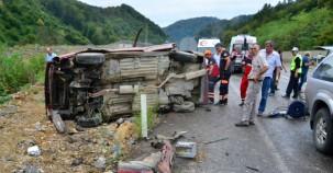 Hastane Yolunda Feci Kaza: 1'i Ağır 3 Yaralı