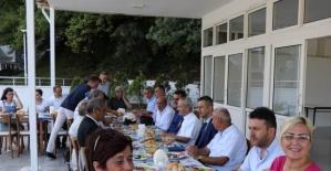 Bartın Valisi Basın Bayramında Gazetecileri Ağırladı