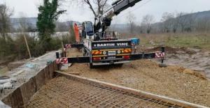 Bartın'da TOKİ 2 Köprüsü İnşaatı Başladı