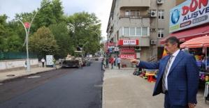 Bartın'da Bülent Ecevit Bulvarı Yenilendi