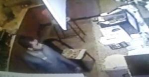 Bartın'da Çay bahçesi kasasından hırsızlık kamerada