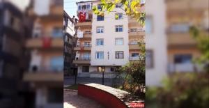 Arkadaşının ailesiyle tanışmaya gitti, 5. kattan ölüme atladı