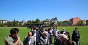 Binali Yıldırım Bartın'da Sele Giden Köyleri Ziyaret Etti